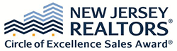 NJ Realtors Circle of Excellence Award